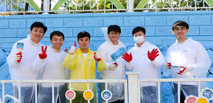 Doosan day of Community Service 썸네일 이미지
