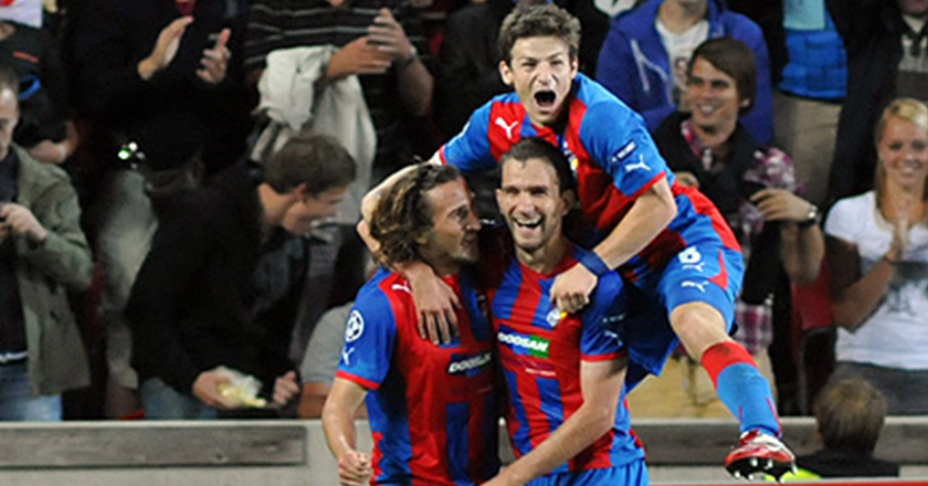 FC Viktoria Plzen in the final round of UEFA Champions League 1