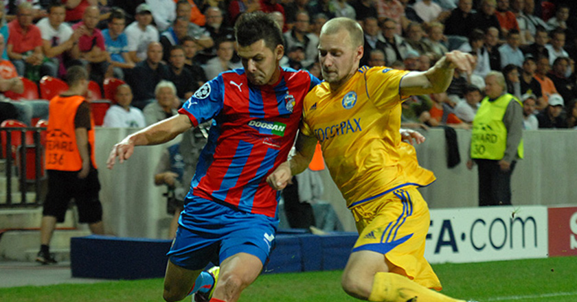 FC Viktoria Plzen in the final round of UEFA Champions League 4