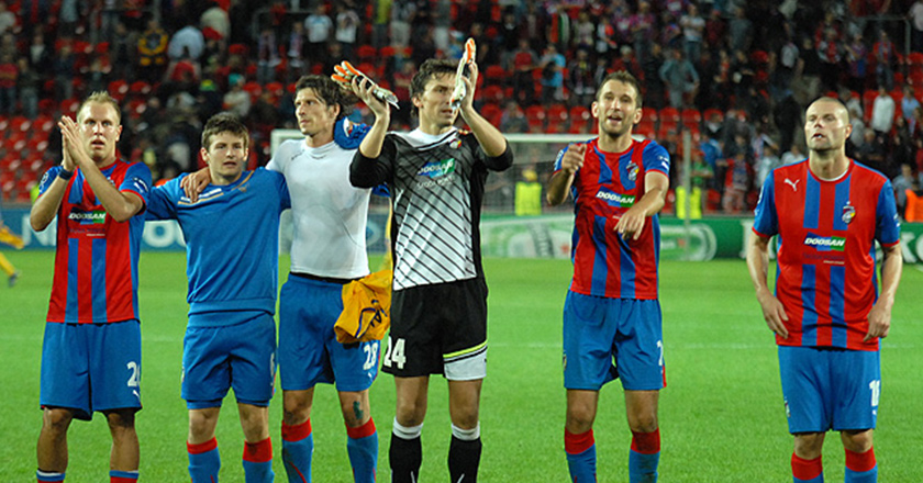 FC Viktoria Plzen in the final round of UEFA Champions League 5