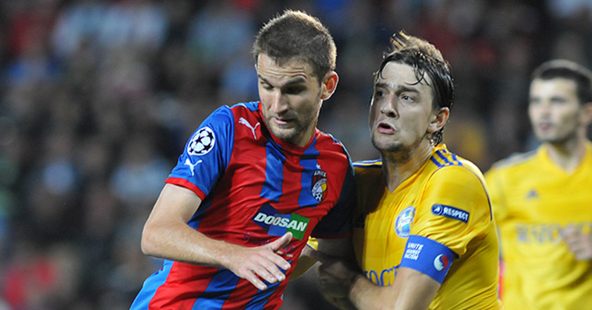 FC Viktoria Plzen in the final round of UEFA Champions League 6